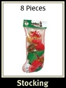 Christmas Dog Stocking 8 Piece