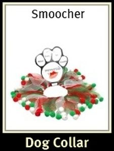 Smoocher Dog Holiday Collar