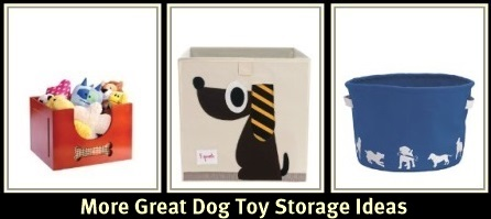 Dog Toy Storage