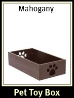 Small Dog Toy Box