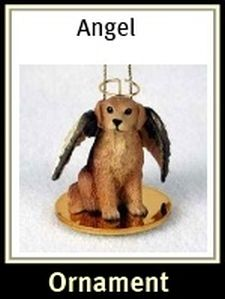 Golden Retriever Angel Ornament