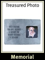 Photo Frame Dog Memorial