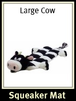 Kyjen Large Cow Body Squeaker