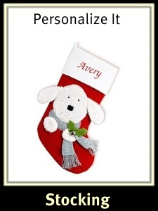 Personalized Dog Stocking