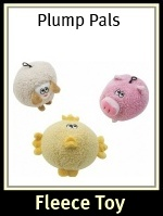 Plump Pals Dog Toys