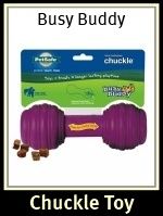 Busy Buddy Chuckle Dog Toy