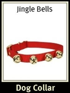 Jingle Bells Dog Collar