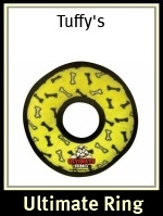 Tuffy's Ultimate Ring Yellow Bones