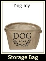 Harry Barker Dog Toy Storage Bag