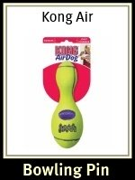 Kong Air Squeaker Bowling Pin