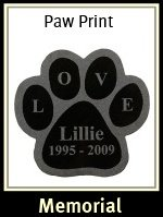 Granite Paw Pet Memorial