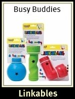 Busy Buddies Linkables Dog Treat Toys