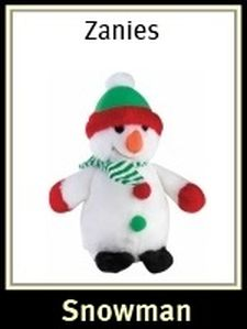 Zanies Holiday Snowman